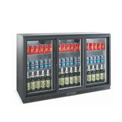 320/330L deslizando as portas de vidro de Baixa Potência Cerveja Mini Refrigerador de demonstração