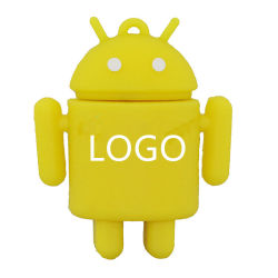 Logotipo personalizado Mini especial Android U disco 32 GB de regalo de la exposición de la unidad flash USB Robot