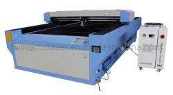 De houten Machine van de Snijder van de Gravure van de Laser van Co2 CNC van het Staal van het Metaal Scherpe