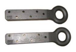 Parti di rimorchio del camion dell'amo di rimorchio dell'amo del rimorchio dell'acciaio di getto di precisione dell'OEM