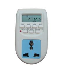 Commerce de gros de l'Énergie de l'enregistrement minuterie Minuterie électronique programmable Socket minuteur numérique