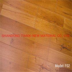 Brillante de la ranura de la madera de ingeniería Underlayment suelo laminado