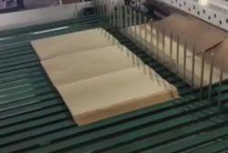 A1 A2 Papier de bâches de refendage Machine