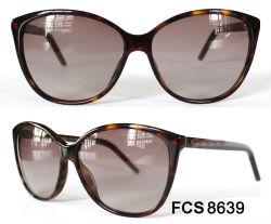 L'acétate de forme ovale Full Frame avec la CE LES LUNETTES Les lunettes de soleil