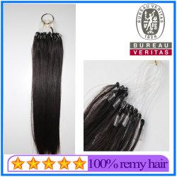 All'ingrosso brasiliano capelli Vergine umana capelli 18 pollici - 30 Prolunghe per capelli con micro anello Easy Pull da pollici