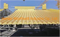 Construção de telha de alumínio com revestimento colorido Telhas Antigo Fabricante