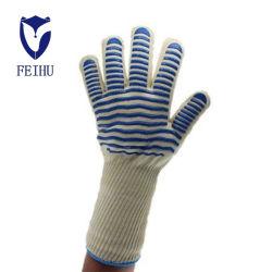 Het Gel van het kiezelzuur Gloves BBQ van 500 Graad Vlam Op hoge temperatuur - de vertrager en misstap-Bewijs de Multifunctionele Isolatie van de Hitte van de Barbecue Gloves Magnetron