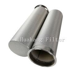 Aço inoxidável porosa de titânio em pó malha de arame metálico de pedra de carbonatação filtros sinterizado