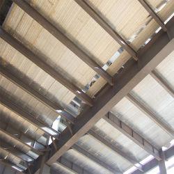 Châssis de la structure en acier de construction préfabriqués maison préfabriquée avec hangar de toiture