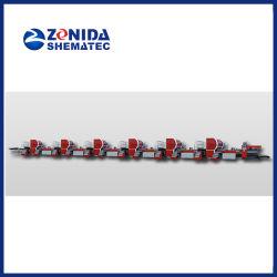 Una stampante di piastra metallica di sei colori per il barattolo di latta che fa macchinario