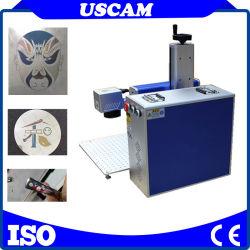 Marquage coloré sur acier inoxydable et de marquage noir sur l'aluminium 30W Mopa Machine de marquage de couleur laser à fibre