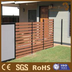 Guangzhou WPC Composite Wood Fence Screen für Garten