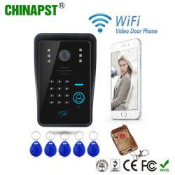 Telefono astuto del portello della villa di WiFi del fornitore della Cina il video per sblocca l'entrata del cancello (PST-WiFi002IDS)