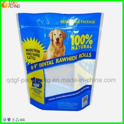 De Verpakking van het plastiek/van de Zak/van het Voedsel van de Ritssluiting de Zakken van de Verpakking voor Hond behandelen