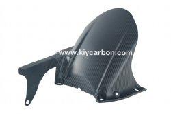 Twill carbonio in fibra di carbonio Moto parte posteriore Hugger per YAMAHA Mt-01