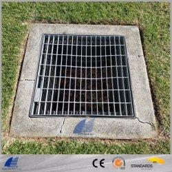 Pour le carter de la grille en acier galvanisé, le drainage couvercle, couvercle de trou d'homme