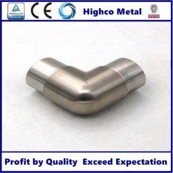 Main courante en acier inoxydable Flush Joiner, Tube Joiner, coude à 90 degrés
