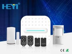 Интеллектуальная домашних самообороны Smart+домашней сети WiFi PSTN сигналов тревоги по безопасности систем
