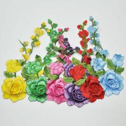 Qualitäts-neuer Blumen-Entwurfs-Stickerei-Änderung- am Objektprogrammgroßverkauf für Frauen-Kleid