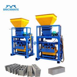 Низкий уровень инвестиций мелких40-1 Qt ручной блок/ пресс для производства кирпича цены на бетонные блоки