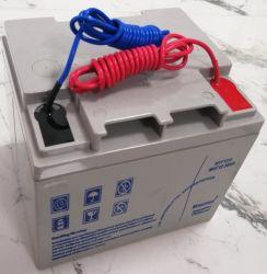 Alta efficienza e batteria al piombo 12V38ah di Qr di buona qualità per la batteria solare della batteria dell'invertitore della batteria del centro di calcolo dell'ospedale VRLA