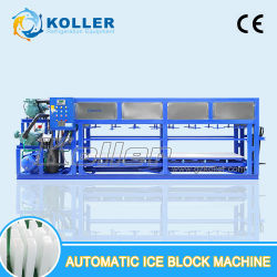 macchina automatica del ghiaccio in pani 5tons/Day senza acqua salata per il congelamento (DK50)