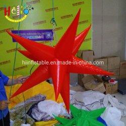 Красочные Свадебное светодиодный индикатор надувные Star