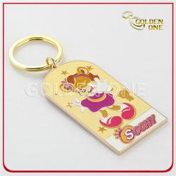 Custom красочные жесткий эмаль сувенирный подарок Металлические кольца для ключей