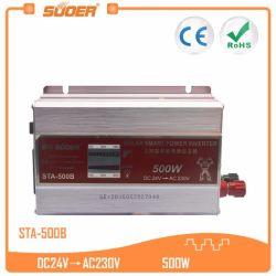 Suoer 24V 500W солнечная энергия автомобильный инвертор (STA-500B)