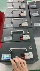 48V 50Ah 3.2V batterie au lithium Cellules Lithium-phosphate de fer Pack de Batterie LiFePO4 Batterie Solaire PDD Li-ion Batterie rechargeable avec boîtier en acier inoxydable