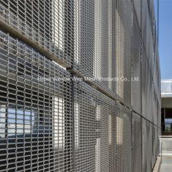 En acier inoxydable matériau décoratif Architectural Buillding Wire Mesh Metal Fabric pour plafond/mur/décoration Rideau
