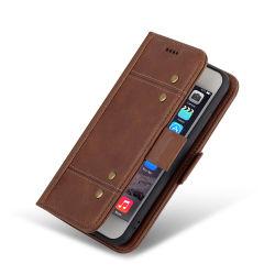 سعر المصنع الترويجية وظائف متعددة حقيبة الهاتف الجلد الأصلي