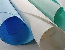 Los nuevos médicos impermeable de papel crepé