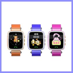 Le suivi de 1,44 pouces écran Kids Smart Watch localisateur GPS Téléphone Mobile enfant Watch