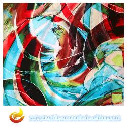 Gedrucktes Chiffon- Silk Gewebe für Kleid (XY-S20150011S)