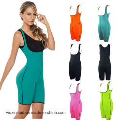 El deporte en la cintura de prendas de vestir Mujeres Bodysuit Ultra el sudor adelgaza Deporte Bodysuit