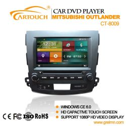 Cartouch® 三菱Pajero Radio iPod Bt Audio Video CT-8009のための車DVD GPS