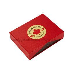 자기 폐쇄 이중 문 럭셔리 버드 베스트 선물 포장 상자 2도어 용지 상자