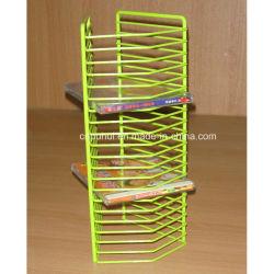 Multi-Capa de almacenamiento de CD Cable Rack (LJ9023)