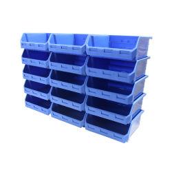 Bak van de Opslag van het Hulpmiddel van het pakhuis de Plastic Stapelbare voor Vervangstukken