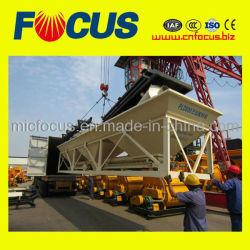 La pequeña máquina de procesamiento por lotes de hormigón, PLD800 Batcher Agregado de concreto