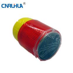 Rh-S a Pilhas Solar da Luz de Advertência LED