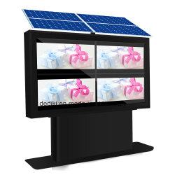 Dedi angeschaltener im Freien LCD bekanntmachende Media-Digitalsignage-Solarspieler