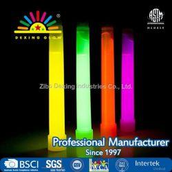 12-pack de qualité industrielle Neon Fluorescent Bâtonnets Lumineux d'urgence (4 couleurs), Ultra Bâtonnets Lumineux avec jusqu'à 12 heures de durée - en vrac
