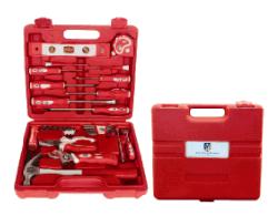 Household Tool Kit SetのためのプラスチックHandle Necessary Handtool
