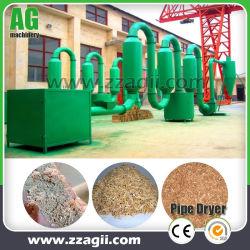 400-500kg/h de fluxo de ar do secador do tubo para a biomassa serradura de madeira