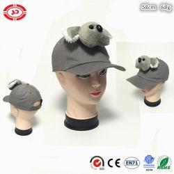 Австралийский хлопок мода дети пользовательские серый Koala с Red Hat