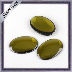 عمليّة بيع حارّ بيضويّة خاصّ [ميد-وليف] لون [كرستسل] زجاج لأنّ زخرفة