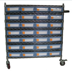 El depósito de almacenamiento Industrial Cable Matel estanterías estanterías para almacenamiento de piezas