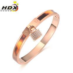 مجوهرات/ هدايا من الصلب المقاوم للصدأ الوردي الذهبي مع الذهب (hdx1135)